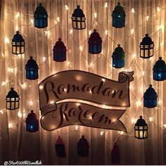 Ramadan decorations