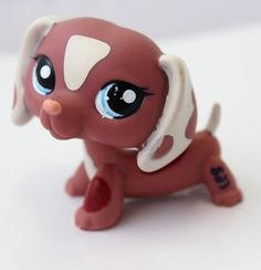 2006 YR! Limited littlest pet shop special edition Chocolate Dachshund dog | eBay