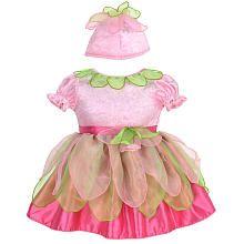 Koala Baby Girls Flower Fairy Halloween Costume - Pink & Green (3-6 Months)