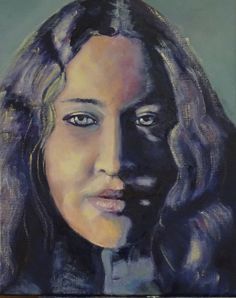 "Title: ""Sensual""  Girl fRom the Netherlands  40-50cm Oil on Canvas"