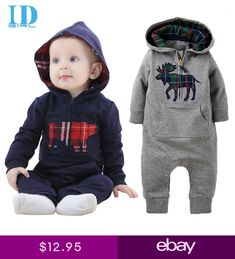 0d8868ee53d Baby Rompers 2016 Fashion Newborn Jumpsuit Clothes Ropa De Long Sleeve  Hooded