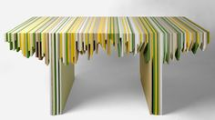 Counter Scrap Table Is Made Out of a Kitchen's Leftovers