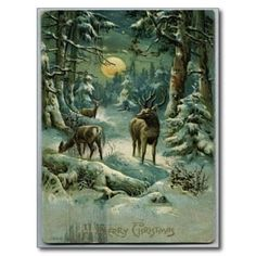 Vintage Christmas Post Card