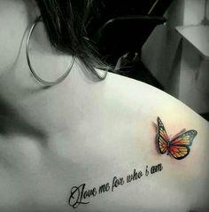 3D butterfly tattoo 45 - 65 3D butterfly tattoos