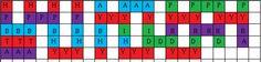 Morse code quilt pattern
