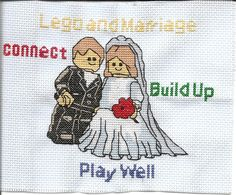 Lego and Marriage by elf1angel