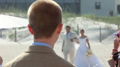 Wedding At Shell Island by Custom Coastal Productions by Custom Coastal. This was a wedding put on by Beachside Occasions at Shell Island Resort on Wrightsville Beach. Produced by Custom Coastal Productions.