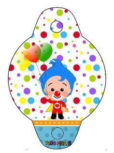 adornos-de-plim-plim-sorbetes-decoracion-plim-plim-imprimibles-plim-plim-cumpleanos-toppers-plim-plim-kits-imprimibles-payaso-plim-plim-descargar Circus Birthday, 2nd Birthday Parties, Ideas Para Fiestas, Pli, Baby Shark, Beach Mat, Outdoor Blanket, Paper Crafts, Clip Art