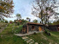 Hobbit, Jacuzzi, Romania, House Styles, Park, Cabin, The Hobbit, Whirlpool Bathtub