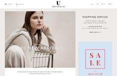 UNGER-FASHION.com | Web Design File