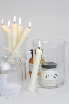 Candle Jars, Candles, Design Simples, Fragrances, Campaign, Candy, Candle Sticks, Candle