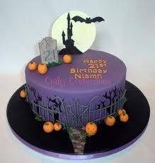 scary cake purple - Google zoeken