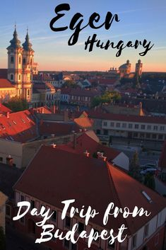 Eger Hungary is a sm
