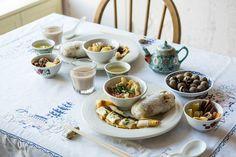 外苑前のカフェレストラン、ワールド・ ブレックファスト・オールデイ(WORLD BREAKFAST ALLDAY)が16年1月5日から2月28日まで、「台湾朝ごはん」(1,500円)を展開する。 2
