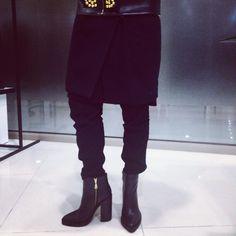 MACH & MACH #trendy #natural #leather #shoes #boots #total #black #winter Tbilisi, Georgia Paliashvili Str 47a