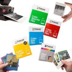 The Impossible Project hat sich in Polaroid Originals umbenannt, in diesem Beitrag stellen wir euch die neuen Filmtypen vor
