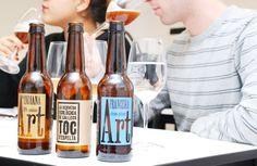 Diuen que son #cervesa fresca i natural, avui hem descobert perquè @ARTCervesers #CETT_UB #cata