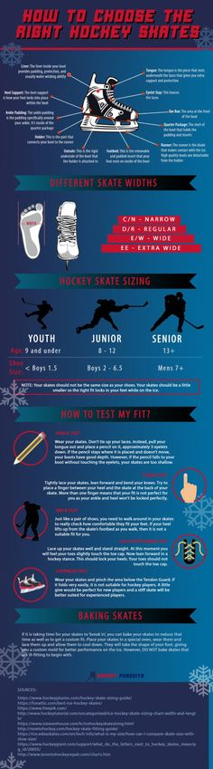 You've decided to give in to hockey fever and are buying your skates for the season? Well, to make your life easier, Hockey Pursuits came up with this infographic that could really cut down your decision making time substantially! Ppt Presentation Slides, Hockey Season, Choose The Right, How To Make Shorts, Skates, Ice Hockey, Make Time, Figure Skating, Infographics