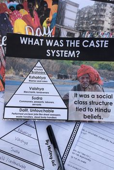 When you're teaching about ancient India and the caste system, take a little time to connect the plight of the modern day Untouchables or Dalits to the ancient class system. While the caste system was Modern World History, Ancient World History, World History Lessons, History Of India, Asian History, 6th Grade Social Studies, Teaching Social Studies, Middle School, High School
