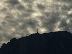 Heroes Cross on Caraiman Peak, Romania