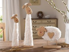 Eid Crafts, Diy Crafts To Sell, Diy Crafts For Kids, Easter Crafts, Spring Projects, Spring Crafts, Primitive Sheep, Sheep Crafts, Sheep Art