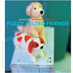 Chronicle Books 'Fuzzy Felted Friends' Crafts Book 13.99