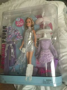 Mattel Barbie Doll H7608 Fashion Fever Gift Set NRFB Retired RARE #DollswithClothingAccessories