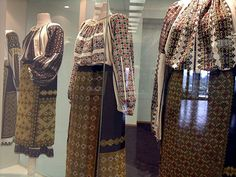 XIX-th century Traditional Romanian Folk Costumes from Muntenia, Muscel area, Arges county. Folk Costume, Costumes, Textiles, Romania, Kimono Top, The Incredibles, Traditional, Blouse, Interesting Stuff
