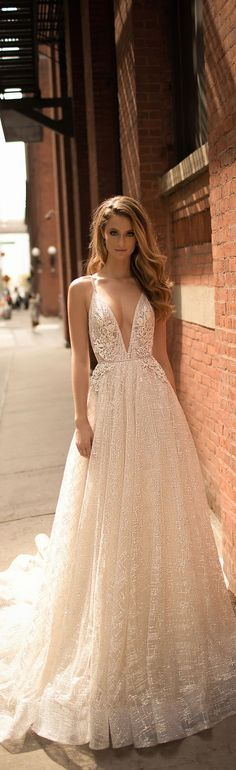 The Berta 2018 wedding dresses from this standout bridal collection are truly stunning! �Berta managed to tell a comprehensive story through these designs