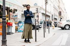 The Locals — The Locals – Street Style from Copenhagen and elsewhere Skirt And Sneakers, Sneakers Street Style, Best Pants For Men, Mafia, Lil Black, Paris Mode, Street Style Women, Autumn Winter Fashion, Nice Dresses