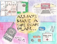 safe with fire grade 5 - Google Search Escape Plan, First Aid Kit, Fire, How To Plan, Google Search, Survival First Aid Kit, Diy First Aid Kit, Treat Box