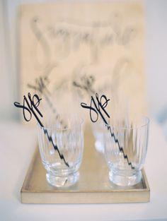 custom drink stirrers | Wedding & Party Ideas | 100 Layer Cake