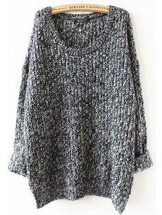 5eaa4c96472 Oversized Sweater Autumn winter sweaters women pull femme knitwear long  sleeve o-neck long pullover 2016 tricot kerst trui knit