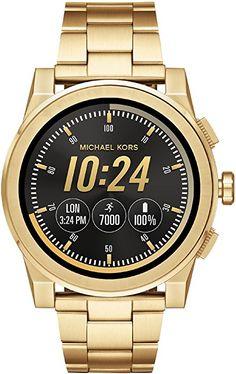 25aa55cfe607 Michael Kors Men s Smartwatch Grayson MKT5026  Amazon.co.uk  Watches