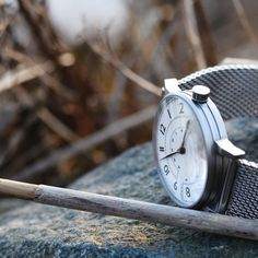 Hirwill 01 steel on the rocks The Rock, Rocks, Steel, Watches, Stuff To Buy, Accessories, Instagram, Wristwatches, Clock