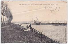 Frossay, le canal maritime de la Basse-Loire