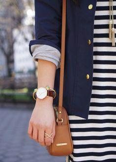 GiGi New York | Skirt the Rules Fashion Blog | Saddle Madison Crossbody