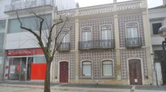 Balcão Banco Santander Totta em Beja (Alentejo) Portugal