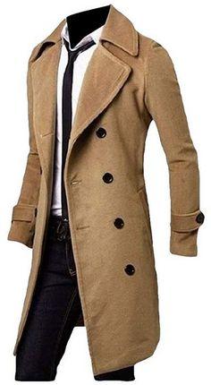 19d03e69e01 Pinned onto Men s Long Trench Coats Board in Men s Clothing Category