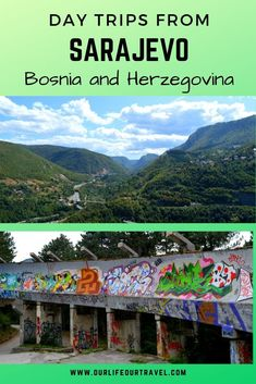Sarajevo: Off-the-beaten-path sights and day trips - Our Life, Our Travel Europe Destinations, Europe Travel Tips, Us Travel, Family Travel, Budget Travel, Best Places In Europe, Sarajevo Bosnia, Europe On A Budget, Beautiful Places To Travel