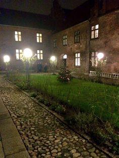 Graabrødre convent garden, Odense, Denmark