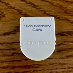sony Playstation 1 One 1mb Mememory Card Joytech  Ps1 Computer Games gaming