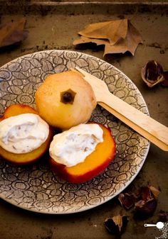 Poached Autumn Fruit