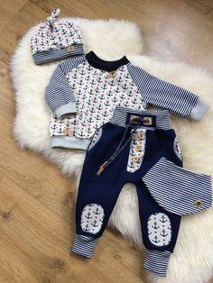 ღ¸.•❤ ƁҽႦҽ ღ .¸¸.•*¨*• Baby Outfits, Little Boy Outfits, Little Boy Fashion, Cute Outfits For Kids, Baby Boy Fashion, Toddler Outfits, Kids Fashion, Sewing Kids Clothes, Cute Baby Clothes