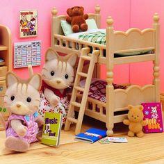 Set muebles habitaci�n ni�os - Sylvanian Families                              …