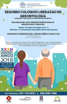 México:Coloquio Liderazgo en Gerontología | Central Informativa del Adulto Mayor
