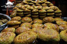 Freshly baked Kashmiri Kulchay. Muzaffarabad, Azad Kashmir, Pakistan
