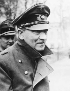 March, 1945. Some of the very last photos of Adolf Hitler. He's 55 here but looked and acted far older than his years.