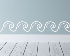 Wall Decals - Wall Stickers - Decals - Custom Stickers by luxeloft Beach Wall Decals, Custom Wall Decals, Nautical Wall Decor, Nautical Home, Beach Wall Art, Stencils For Wood Signs, Custom Paint Jobs, Stencil Painting, Room Themes
