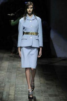 Milan Fashion Week - PRADA Peplum Dress, Prada, Platform, Lifestyle, Milan Fashion, Dresses, Vestidos, Heel, Dress